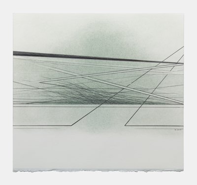 THE LINES OF TIME-7 drawing by ann christopher